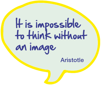 It is impossible to think without an image